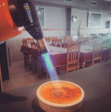 Restaurante Dom Duarte: Leite Creme