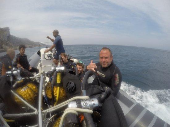 Mon Diving: buen dia