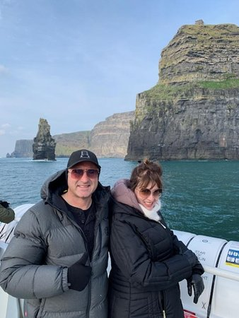 Cliffs of Moher Cruise from Doolin: Picture taken by Chris