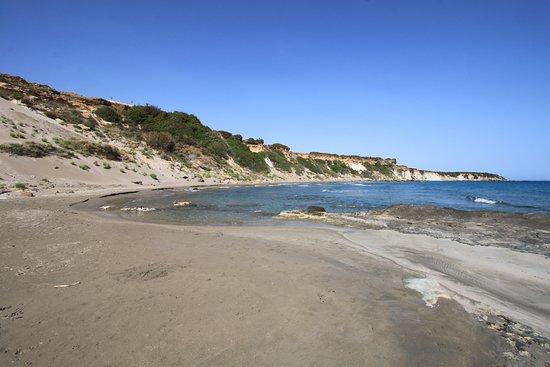 Sfakia, Yunanistan: Sandstrand Orthis Amnos