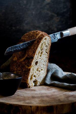 Restaurant Frunk: Ons vers gebakken zuurdesem met huisgemaakte boter