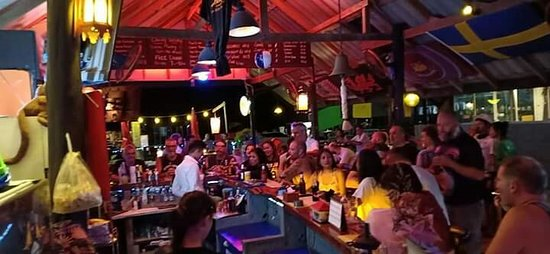 April fun at the biggest little bar on Koh Lanta