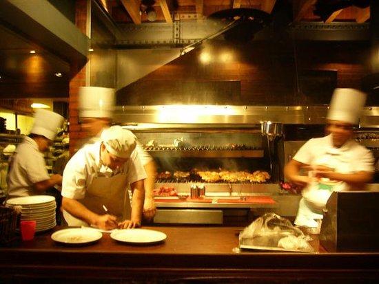 Cabana Las Lilas: kitchen