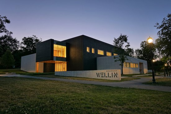 Clinton, NY: Opened in 2012, the Ruth and Elmer Wellin Museum of Art combines advances in interdisciplinary approaches with object-based learning. Named in memory of Ruth and Elmer Wellin, parents of Keith Wellin, Hamilton class of 1950, who, along with his devoted wife Wendy, provided leadership funding for the building. The museum features a large visible archive and open storage spaces allowing visible access to a collection of cross-cultural art and artifacts that span millennia.