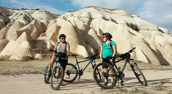 Bicycling in Cappadocia
