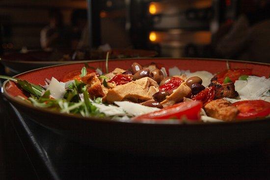 Sentimi: Salade de poulet mariné