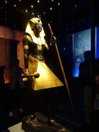 Gardien du tombeau (hors d'Egypte pour la 1ère fois)