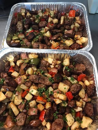 Sausage Peppers Potatoes