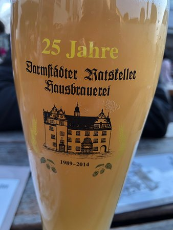 Delicious beer and food