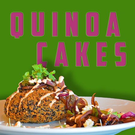 YCSF Craft (Yellow City Street Food): Quinoa Cakes- rotating special