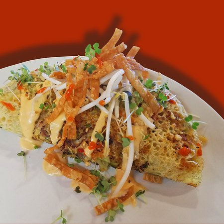 Banh Xeo- rotating brunch item, on Saturdays