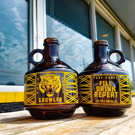 Buy a YCSF Growler, take some great craft beer to go!