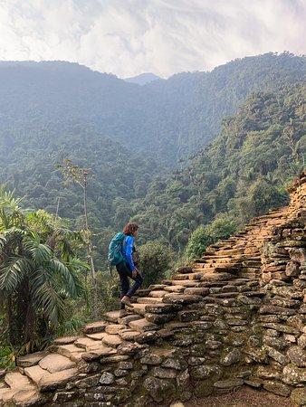 Lost City trek in the Sierra Nevada, Santa Marta (4 days tour): Jesus ascends!