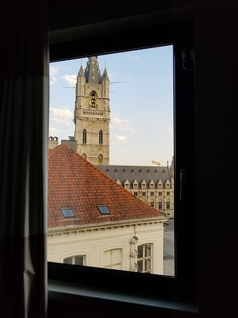 View from one window