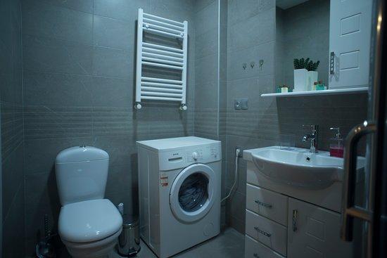 Tbilisi, Georgia: The bathroom