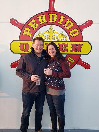 Perdido Queen Cruises: Enjoy the beautiful sunset views during happy hour!