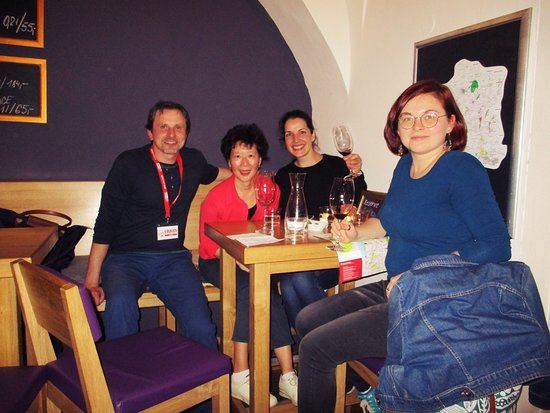 With travelers on my private food tour in Prague - Czech Republic - Bohemia.