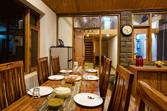 Zostel Homes Koti: ZostelX Koti Dining Area