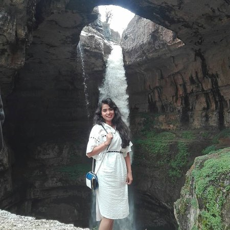 Baatara waterfall north Lebanon