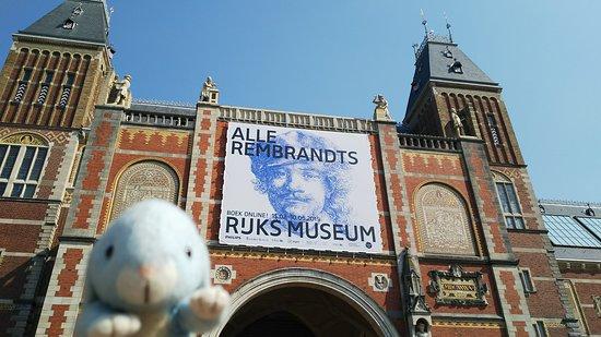 Rijksmuseum: 建物も素敵です