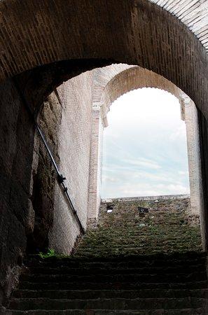 Colosseum from inside.