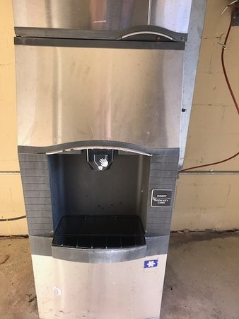 Ice machine that requires your room card!