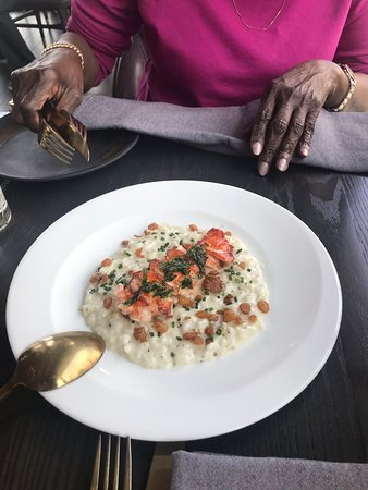 Lobster Risotto Picture Of Gordon Ramsay Hell S Kitchen