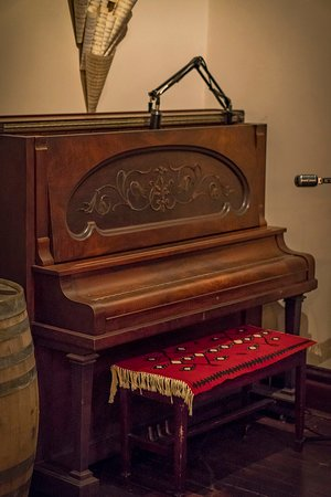 our in-house piano for live music
