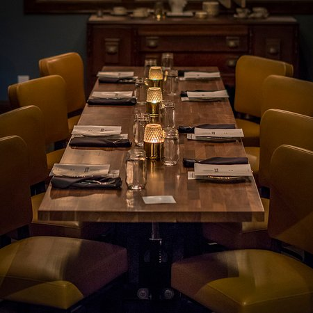 our private dining area