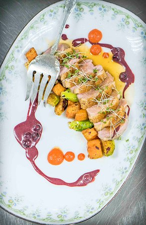 Bakery and Pickle: Bakery & Pickle seared duck entree