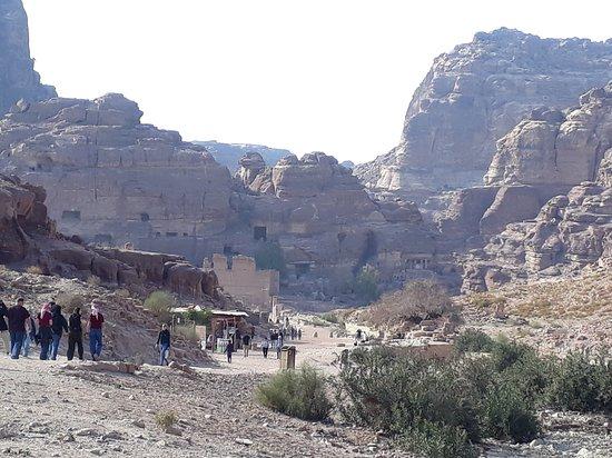 View towards 'downtown' Petra