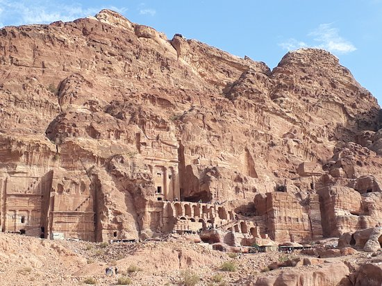 Petra: Tombs in the southern part of the city