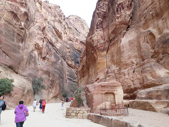 Petra: The Siq was an experience in itself