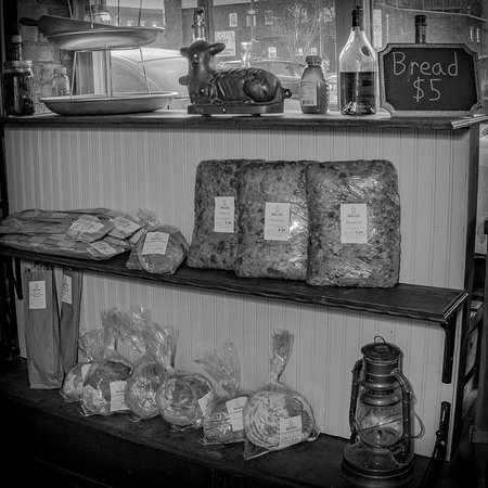 Bakery and Pickle: Bakery & Pickle fresh breads for sale at our host stand