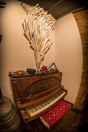Bakery & Pickle in house piano - live pianist weekly
