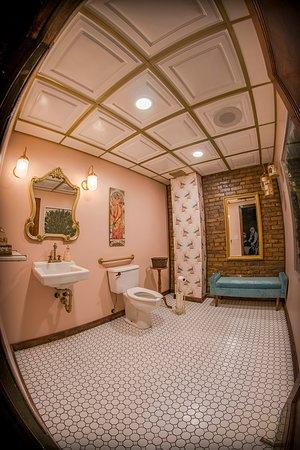 Bakery & Pickle women's restroom