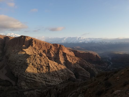 View from the alamut mountains
