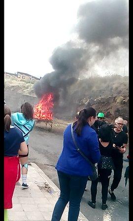 Santa Cruz de Tenerife, Spanyolország: Entierro de la sardina..no se a cuantos he ido ya. 7 de abril 2019