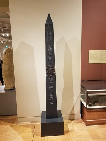 Royal Ontario Museum: Egyptian Obelisk