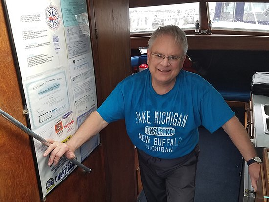 New Buffalo, MI: Captain Dave Torma