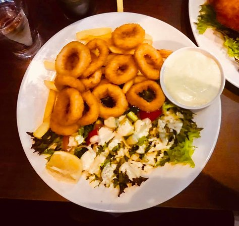 The Calamari Dish Picture Of J S Kitchen Steak House Burwood Tripadvisor
