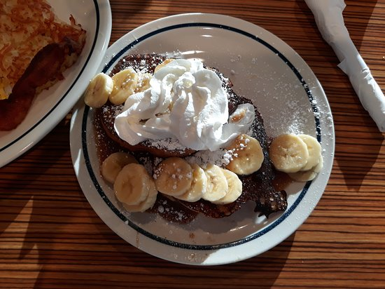 Ihop: Banana Foster French Toast