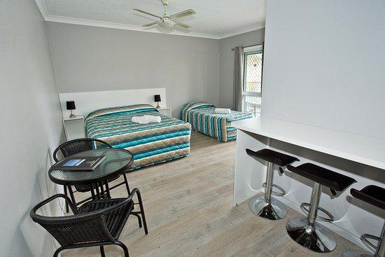 Premium ground floor triple room