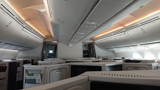 Japan Airlines (JAL): Cクラス 第1コンパートメント