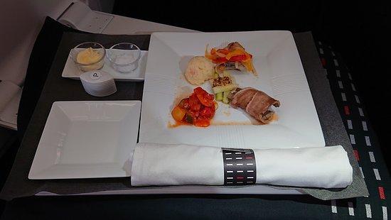 Japan Airlines (JAL): 洋食メニューの前菜