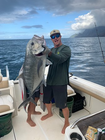 Giant Trevally with Capt Abraham