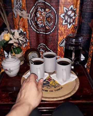 Simon's Place: Traditional Tongan Black Coffee