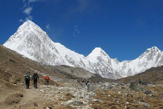 monte Campamento base del Everest...