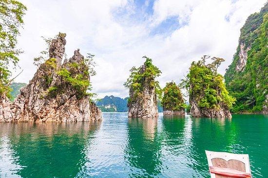 Relájate en el lago Khao Sok