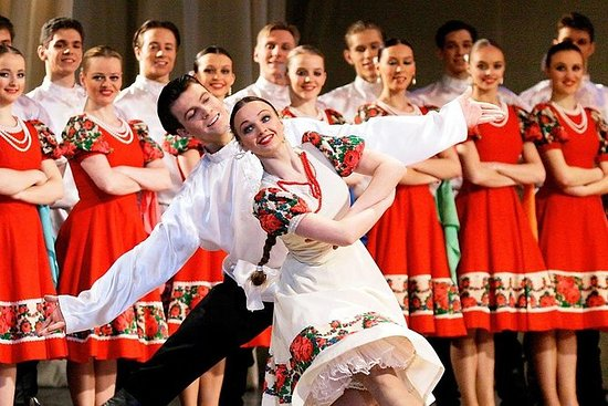 Espectáculo de folk en ruso en San...